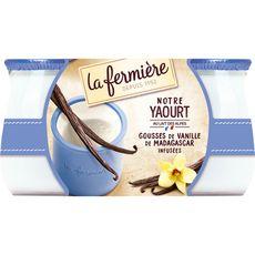 LA FERMIERE LA FERMIERE Yaourt à la vanille 2x140g 2x140g