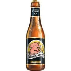 RINCE COCHON Bière blonde 8,5% bouteille 33cl