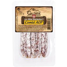 GALIBIER Les Minis Bûchettes saucisson au Comté AOP 120g