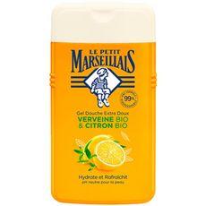 LE PETIT MARSEILLAIS Gel douche verveine citron hydrate rafraîchit 250ml