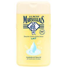 LE PETIT MARSEILLAIS Crème de douche au lait hydrate et nourrit 250ml