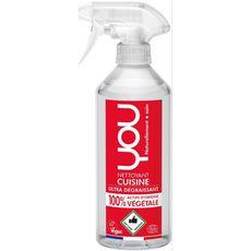 YOU Spray nettoyant cuisine ultra-dégraissant écologique & vegan 500ml
