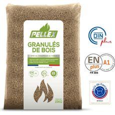 BIOSYL Biosyl granules bois pellex cent pour cent naturel 15kg