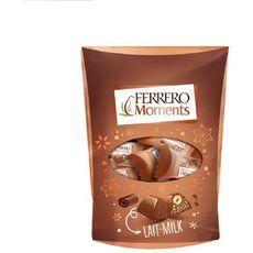 FERRERO Moments Chocolat au lait pralinés sachet 14 pièces 120g