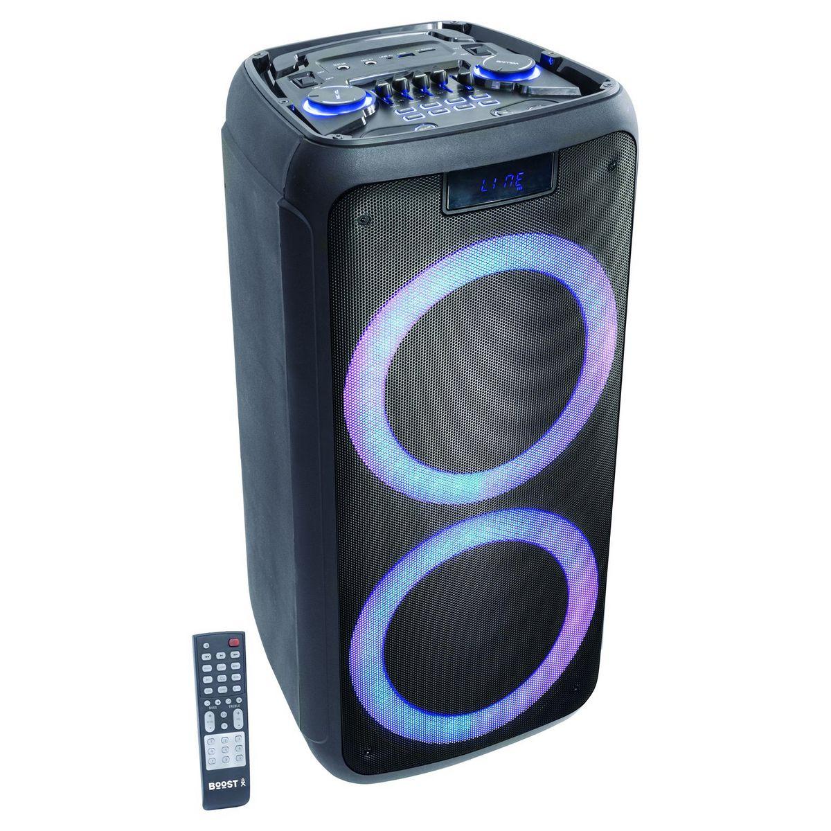 Enceinte Bluetooth - Noir - Boost-Luna50