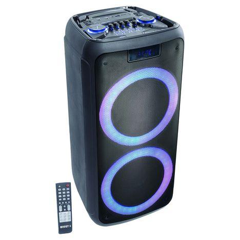 BOOST Enceinte Bluetooth - Noir - Boost-Luna50