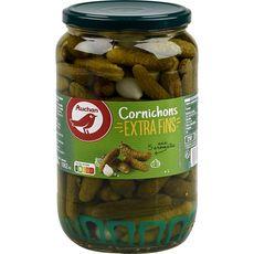 AUCHAN Auchan Cornichons extra fins aux 5 aromates 530g 530g