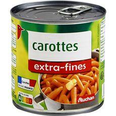 AUCHAN Carottes extra-fines 265g