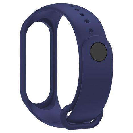 XIAOMI Bracelet de rechange compatible Xiaomi Mi Band 3 et 4 - Bleu
