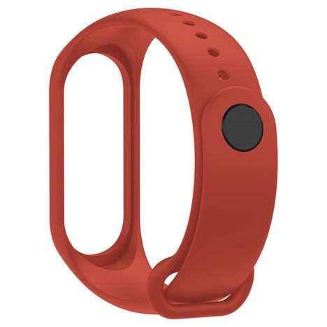 XIAOMI Bracelet de rechange compatible Xiaomi Mi Band 3 et 4 - Orange