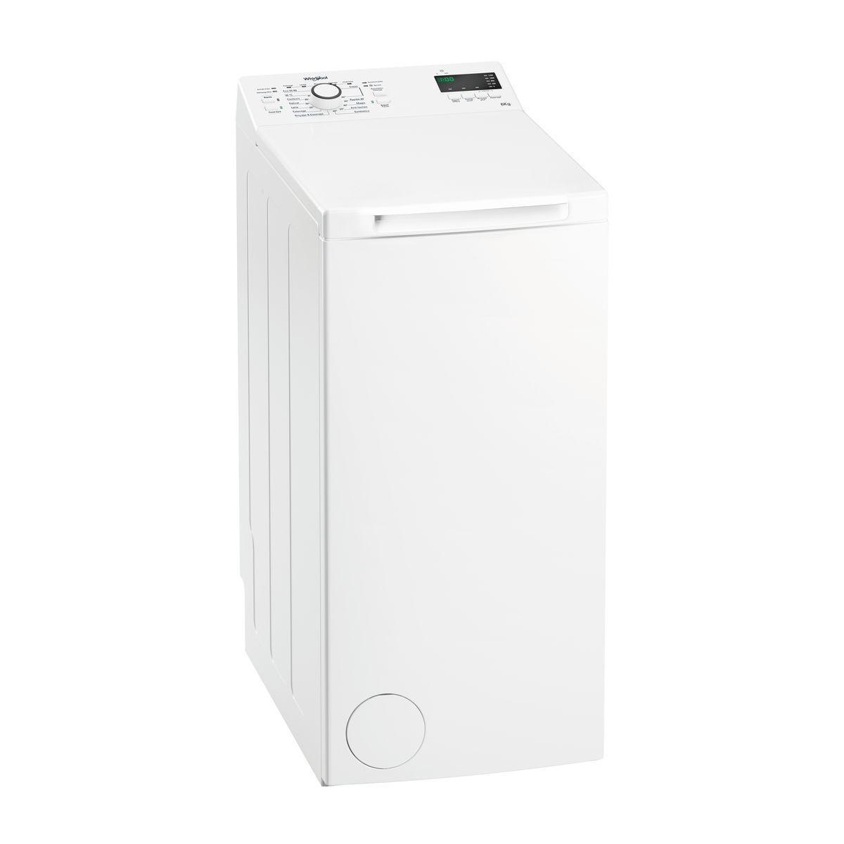 Lave linge top TDLR6237 FR/N, 6 kg, 1200 T/min