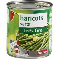 AUCHAN Auchan Haricots verts très fins 440g 440g