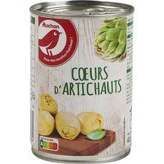 AUCHAN Cœurs d'artichauts 240g