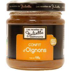 LES RECETTES DE JULIETTE Les Recettes de Juliette Confit d'oignons bio 100g 100g