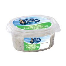 LA BELLE HENRIETTE Salade de concombres épluchés à la crème 300g
