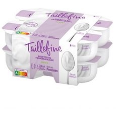 TAILLEFINE Taillefine Fromage blanc 0% MG  nature  8x100g 8x100g