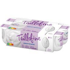 TAILLEFINE Taillefine Yaourt 0% MG brassé nature  8x125g 8x125g