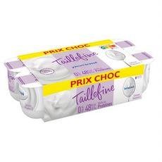 TAILLEFINE Taillefine Yaourt brassé nature 0%MG 8x125g 8x125g