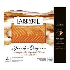 LABEYRIE Saumon fumé d'Ecosse 6 tranches 200g