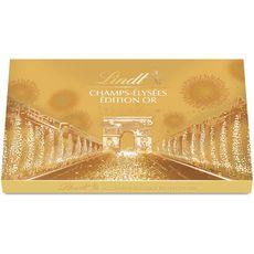 LINDT Lindt Champs-Elysées Edition or boîte petit format 182g 182g