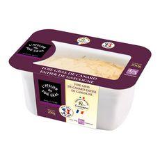 Foie gras de canard entier mi-cuit de Gascogne en terrine 200g