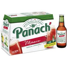 PANACH Panaché monaco aromatisé à la grenadine 1% 8X25cl