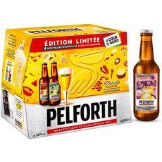 PELFORTH Bière blonde du nord 5,8% bouteilles 12x25cl