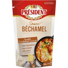 PRESIDENT Président Sauce béchamel 300g 3/4 portions 300g