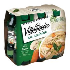 La Villageoise LA VILLAGEOISE Vin de l'Union Européenne La Villageoise blanc