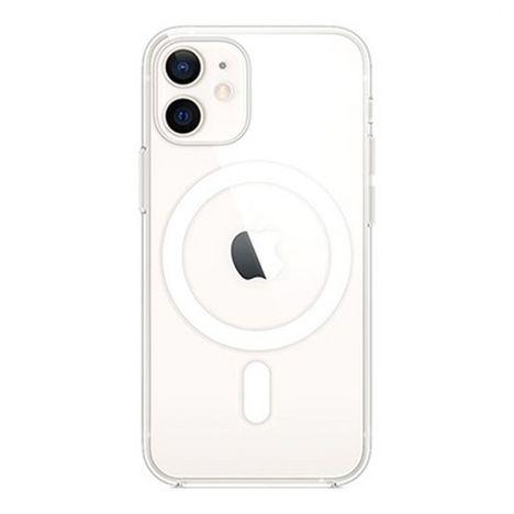 APPLE Coque MagSafe pour Apple iPhone 12 Mini - Transparent