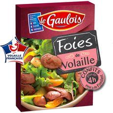 LE GAULOIS Foies de volaille confit 3 à 4 personnes 300g