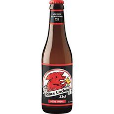 RINCE COCHON Bière rouge 7,5% bouteille 33cl