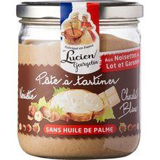 LUCIEN GEORGELIN Pâte à tartiner aux noisettes et chocolat blanc 400g