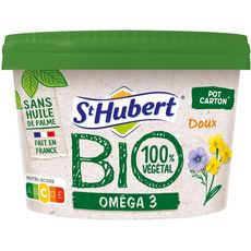ST HUBERT St Hubert Margarine bio oméga 3 sans huile de palme doux 230g 230g