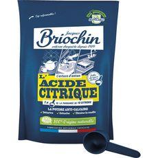 BRIOCHIN Acide citrique écologique en poudre 450g