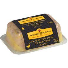 MAISTRES OCCITANS Maistres Occitans Foie gras d'oie entier 170g 4-5 portions 170g