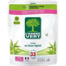 L'ARBRE VERT L'Arbre Vert Recharge lessive au savon végétal 99 lavages 4,5l 99 lavages 4,5l