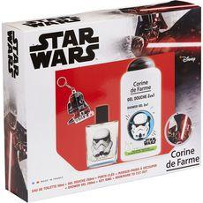 CORINE DE FARME Corine de Farme Star Wars Coffret enfant eau de toilette et gel douche 4 pièces