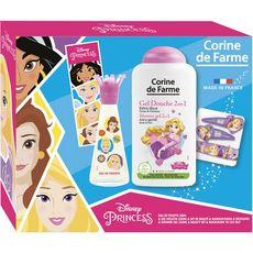 CORINE DE FARME Corine de Farme Coffret Princesse Enfant eau de toilette gel douche 4 pièces