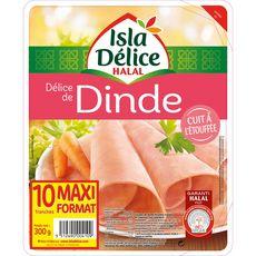 ISLA DELICE Isla Délice Délice de dinde halal 10 tranches 300g 10 tranches 300g
