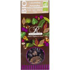 ROUCADIL Roucadil mélange amandes noix chocolat bio 100g 100g