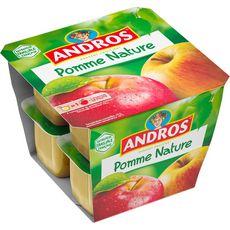 ANDROS Spécialité pomme nature 8x100g