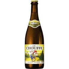 LA CHOUFFE Bière blonde belge 8% 75cl