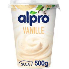 ALPRO Dessert végétal soja vanille 500g