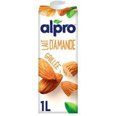 ALPRO Alpro Boisson végétale lait d'amande grillée 1L 1L