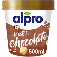 ALPRO Glace végétale chocolat noisette 340g