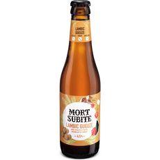 MORT SUBITE Bière lambic gueuze acidulée et fruitée 4,5% bouteille 33cl
