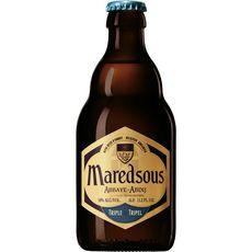 MAREDSOUS Bière blonde triple Belge 10% bouteille 33cl