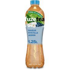 FUZE TEA Boisson thé vert glacé saveur myrtille et jasmin 1,25l