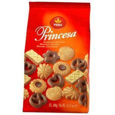 VIEIRA Princesa assortiments de biscuits 400g